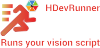 HDevRunner - Runs your vision script